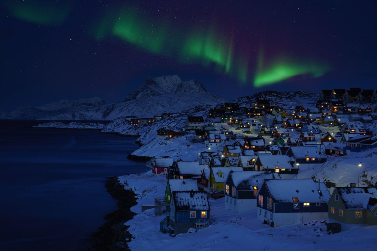 Groenlandia en diciembre