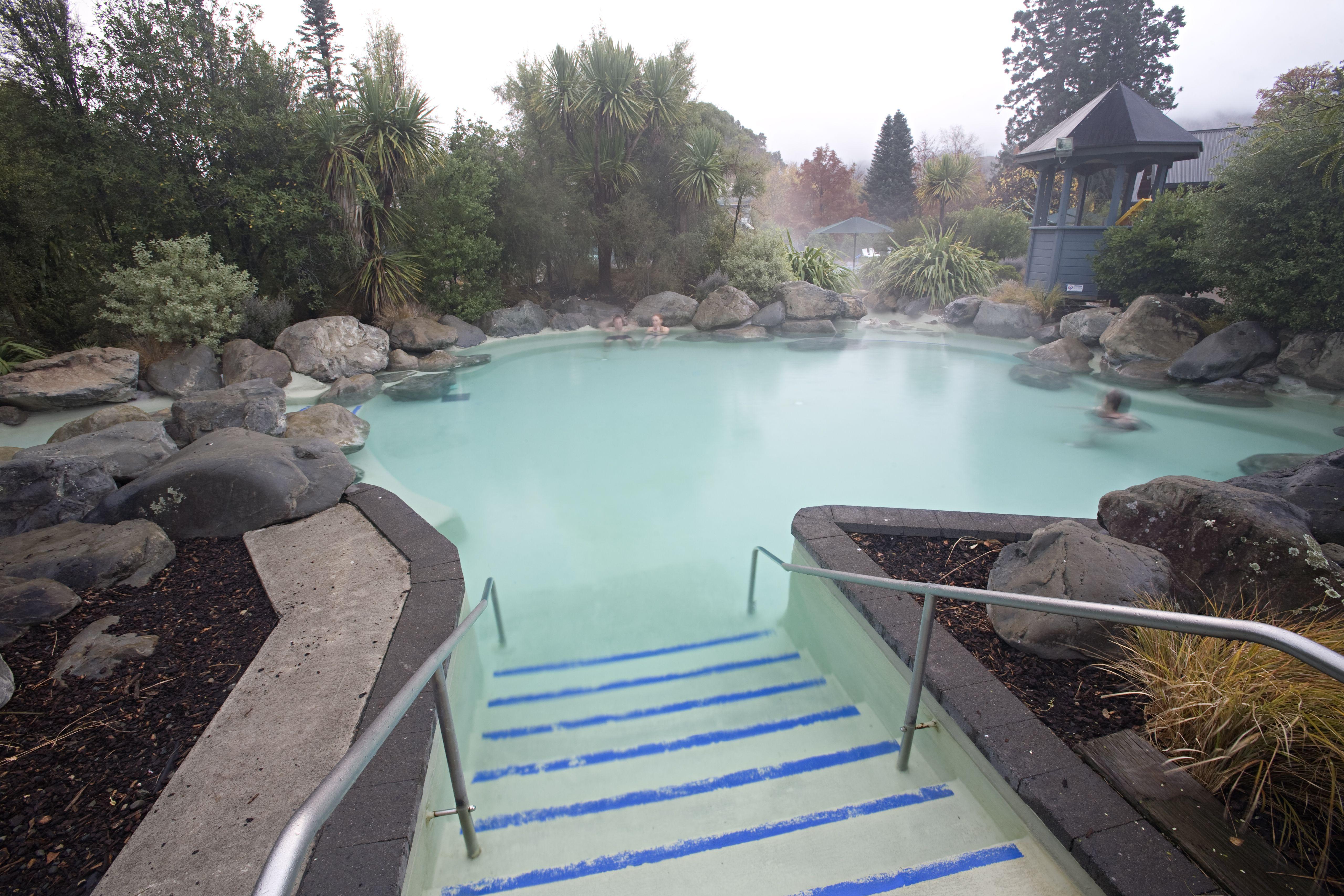 Hanmer Springs, New Zealand.