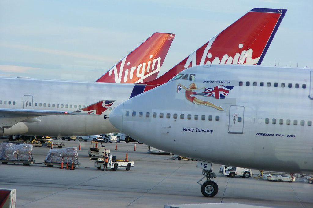 Virgin Atlantic at Orlando International Airport