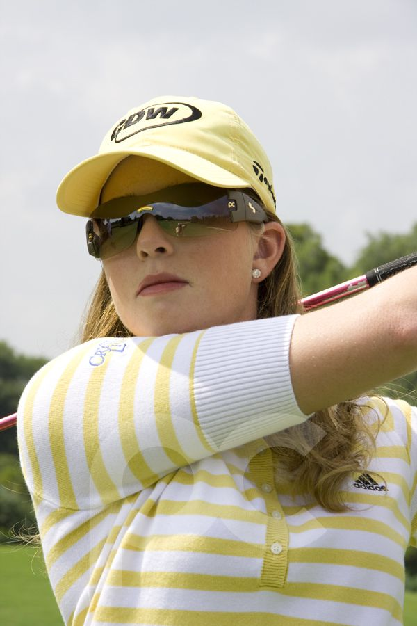Photo of Paula Creamer Wearing Sundog Sunglasses
