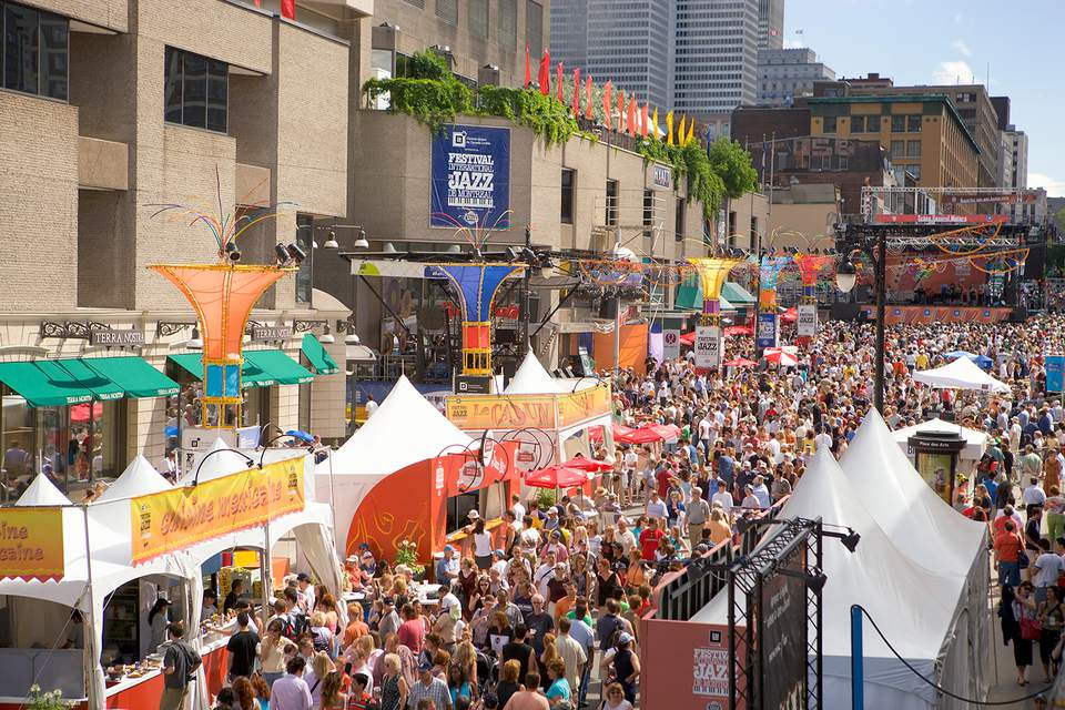 'Festival de Jazz de Montreal, Quebec'