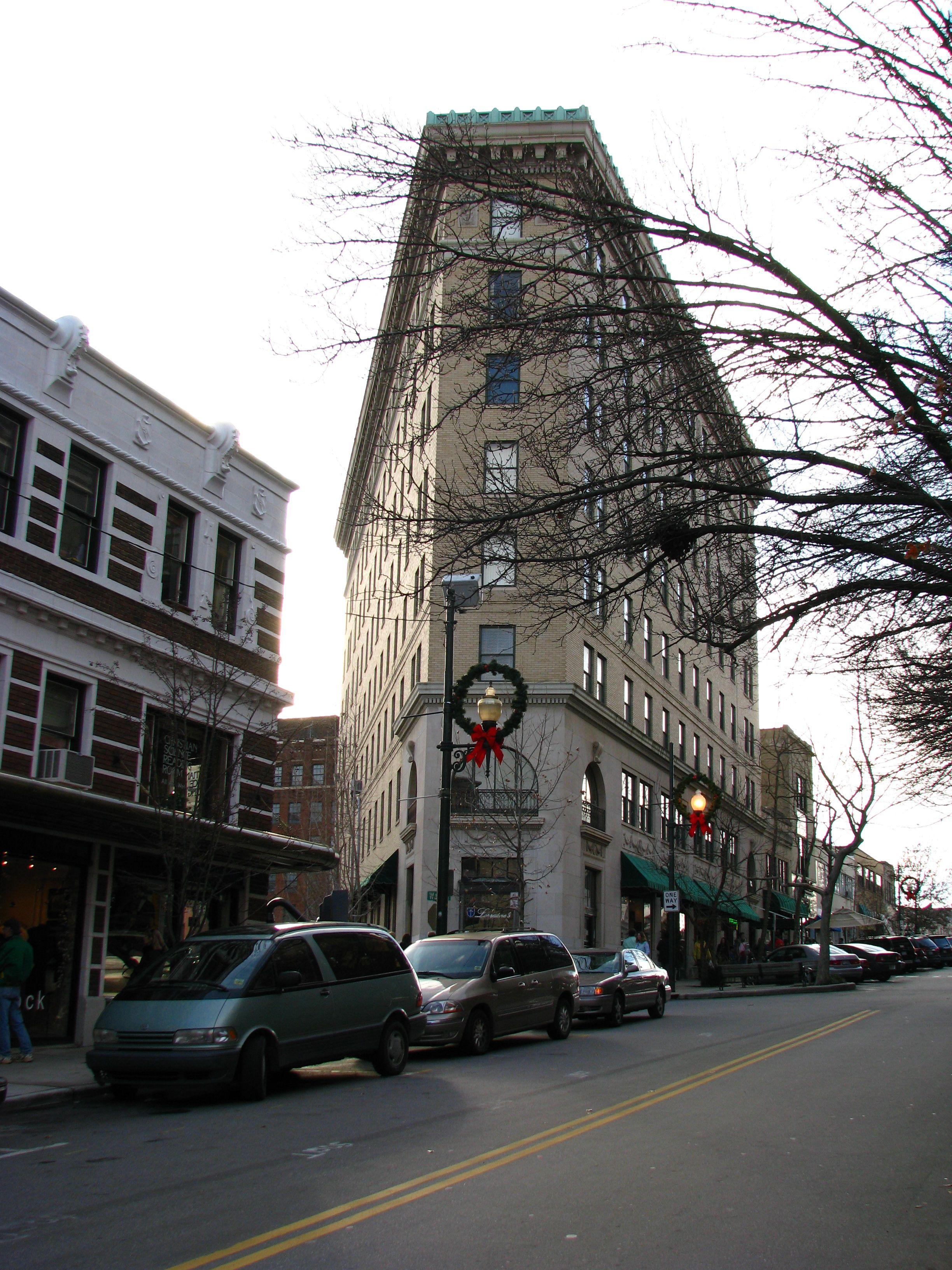 Flatiron Building asheville nc