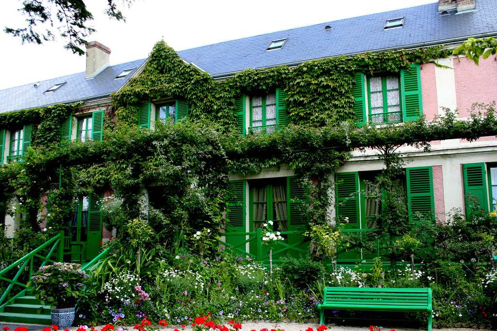 Claude Monet's house, Giverny, France.