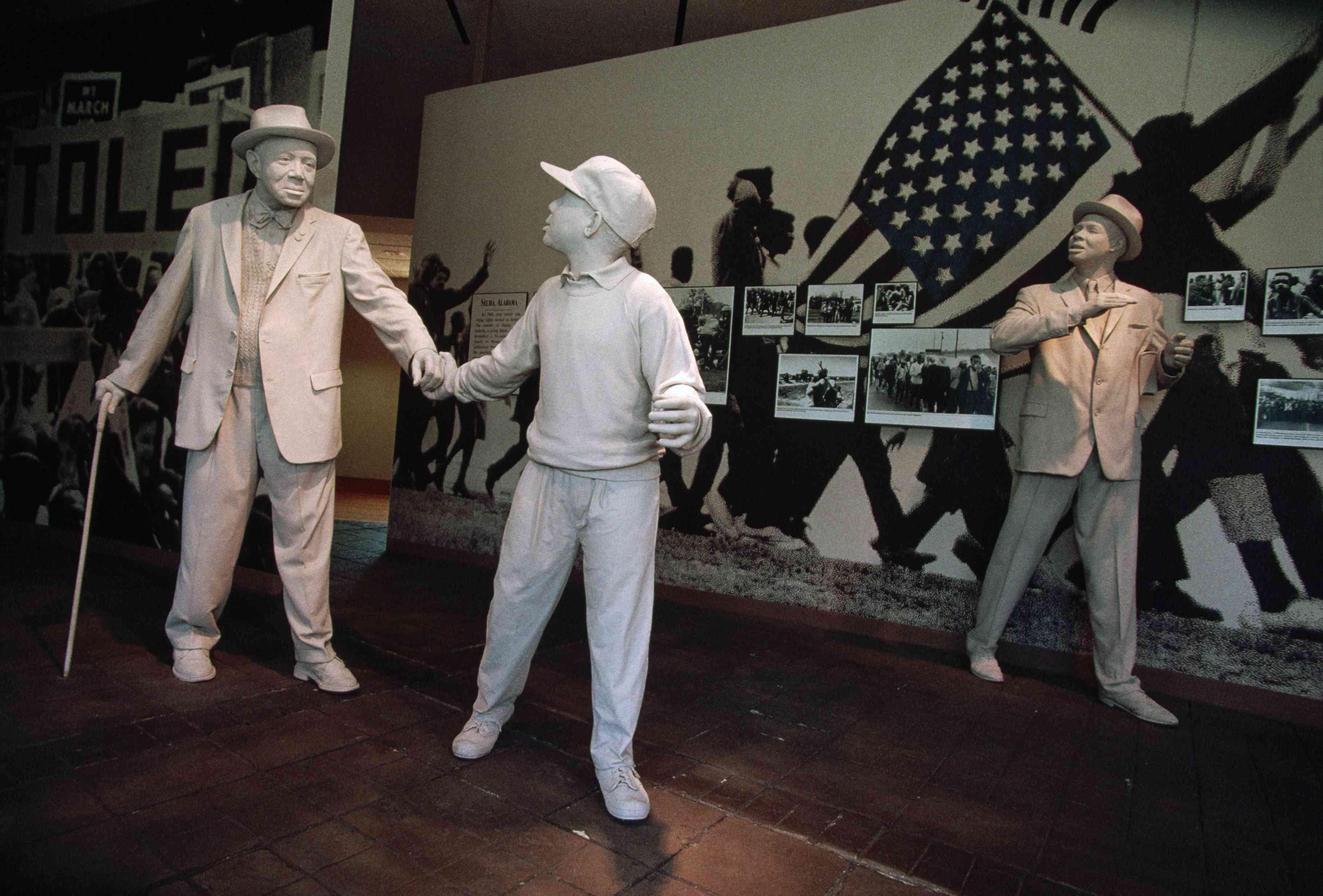 An Exhibit in the Birmingham Civil Rights Institute