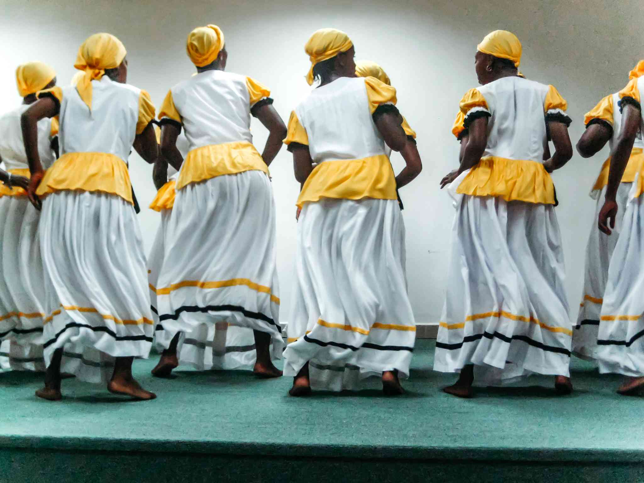 Traditional Garifuna Dancing