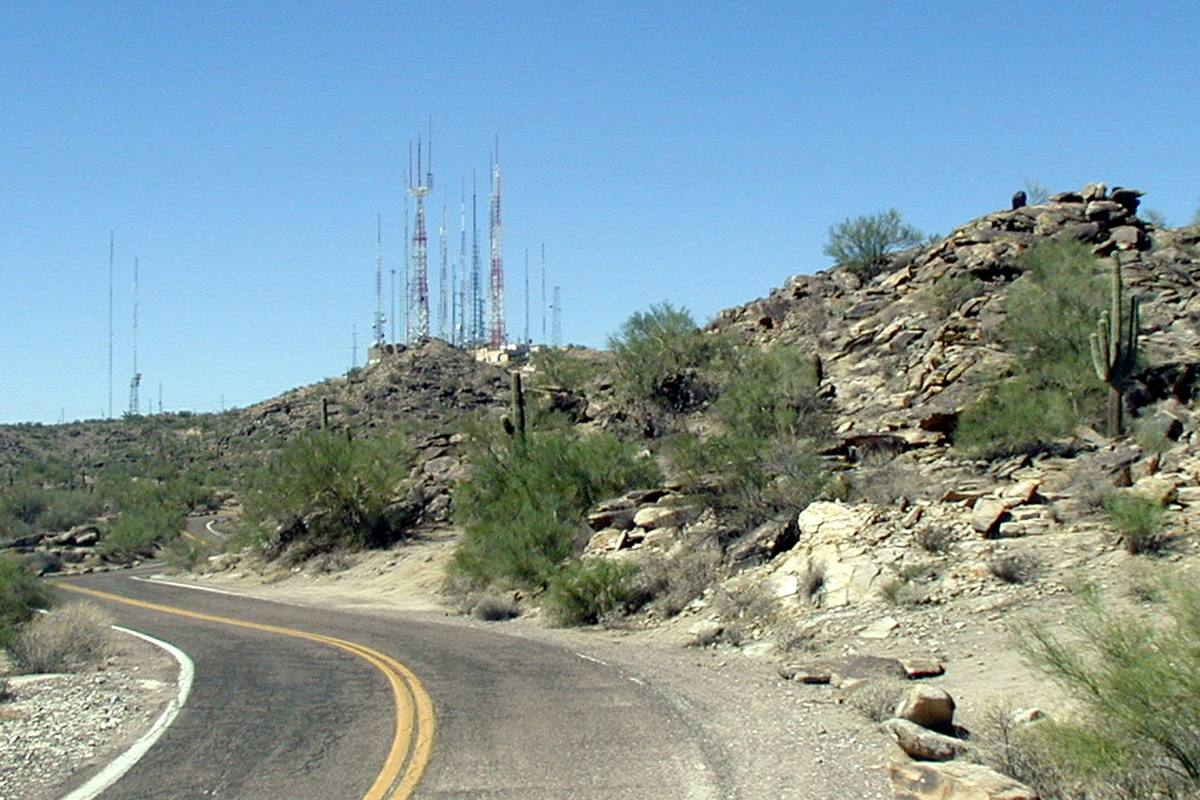 South Mountain Park in Phoenix