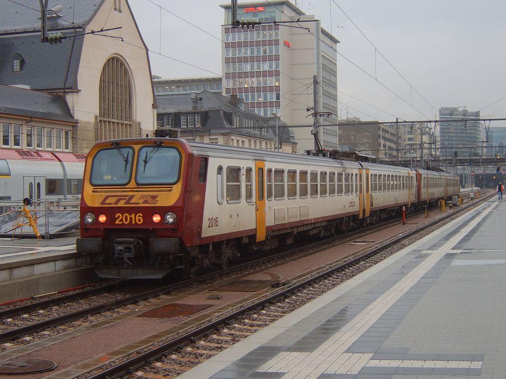 CFL EMU no. 2016, Luxembourg 21 November 2007.