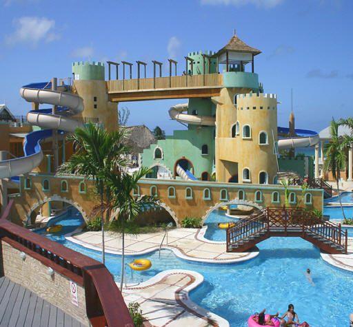 Water park, photo courtesy of Sunset Resorts.