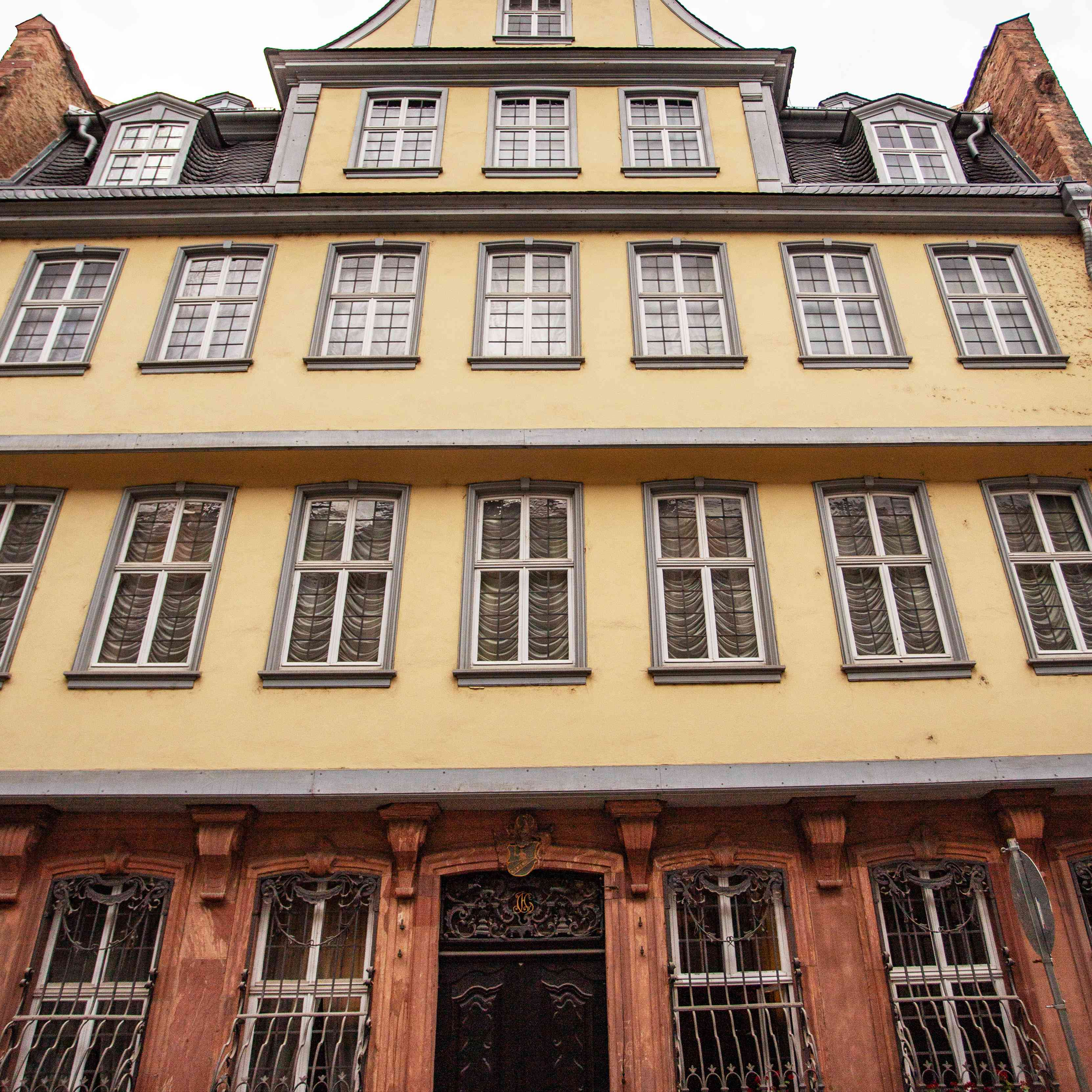 Exterior of the Goethe House