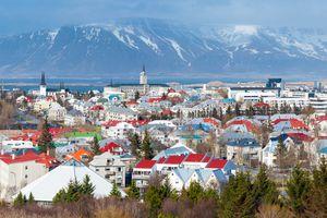 Reykjavik Cityscape, Iceland, Europe