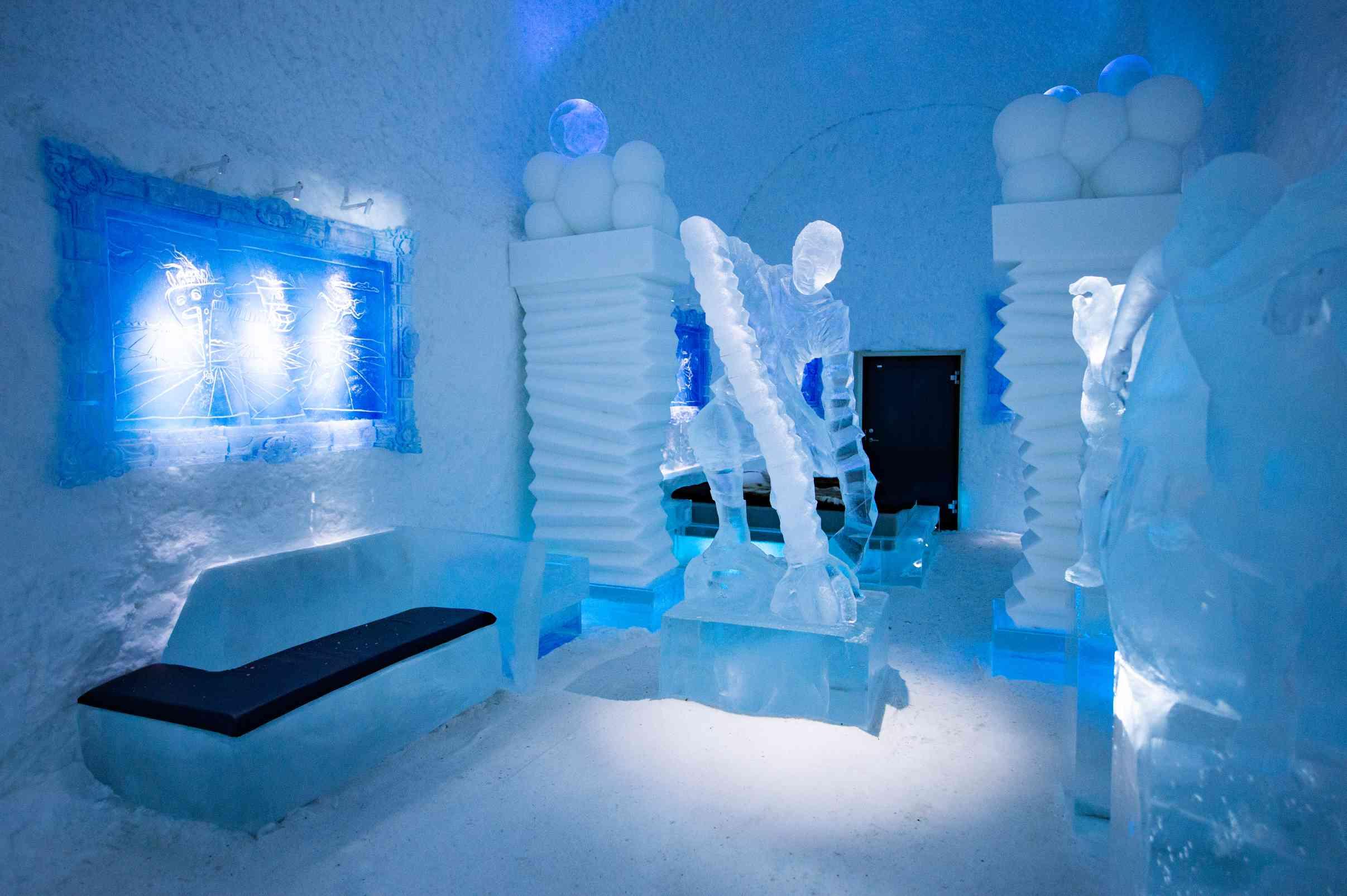 ice hotel suite