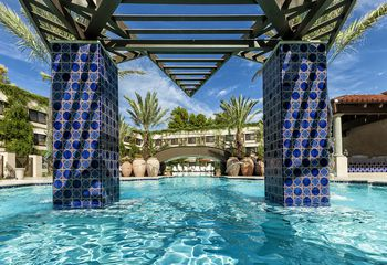 The Mccormick Pool At Scottsdale Resort
