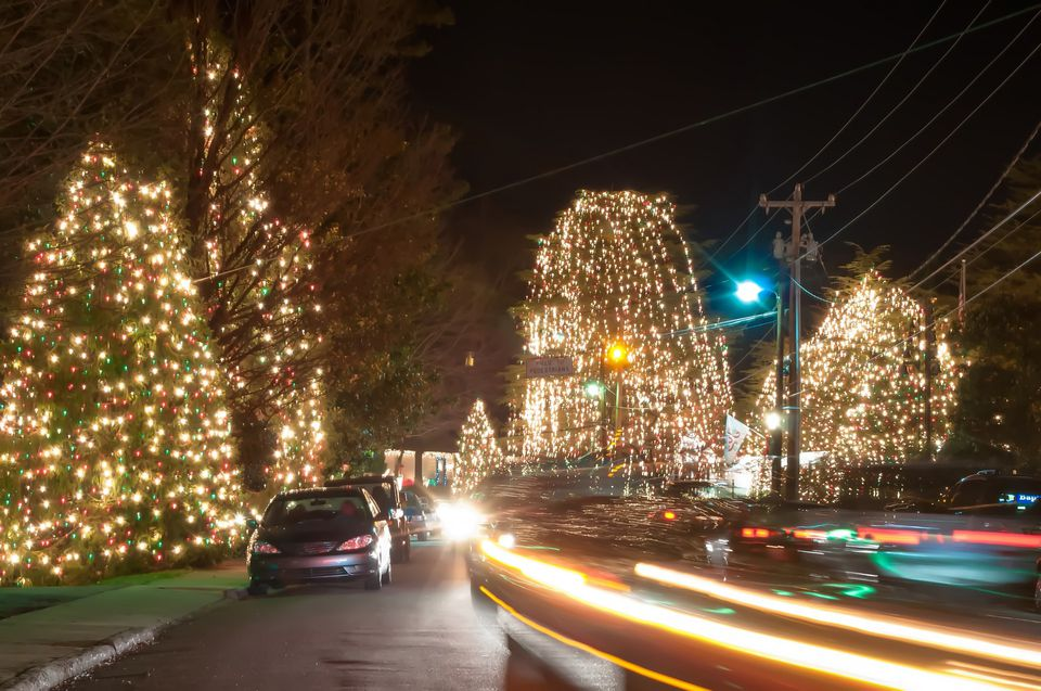 a christmas display in raleigh north carolina - Christmas Town North Carolina