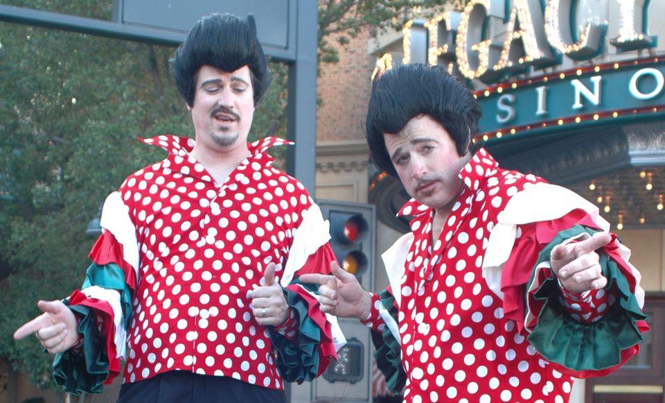 Street performers at the Eldorado Great Italian Festival in Reno, Nevada.