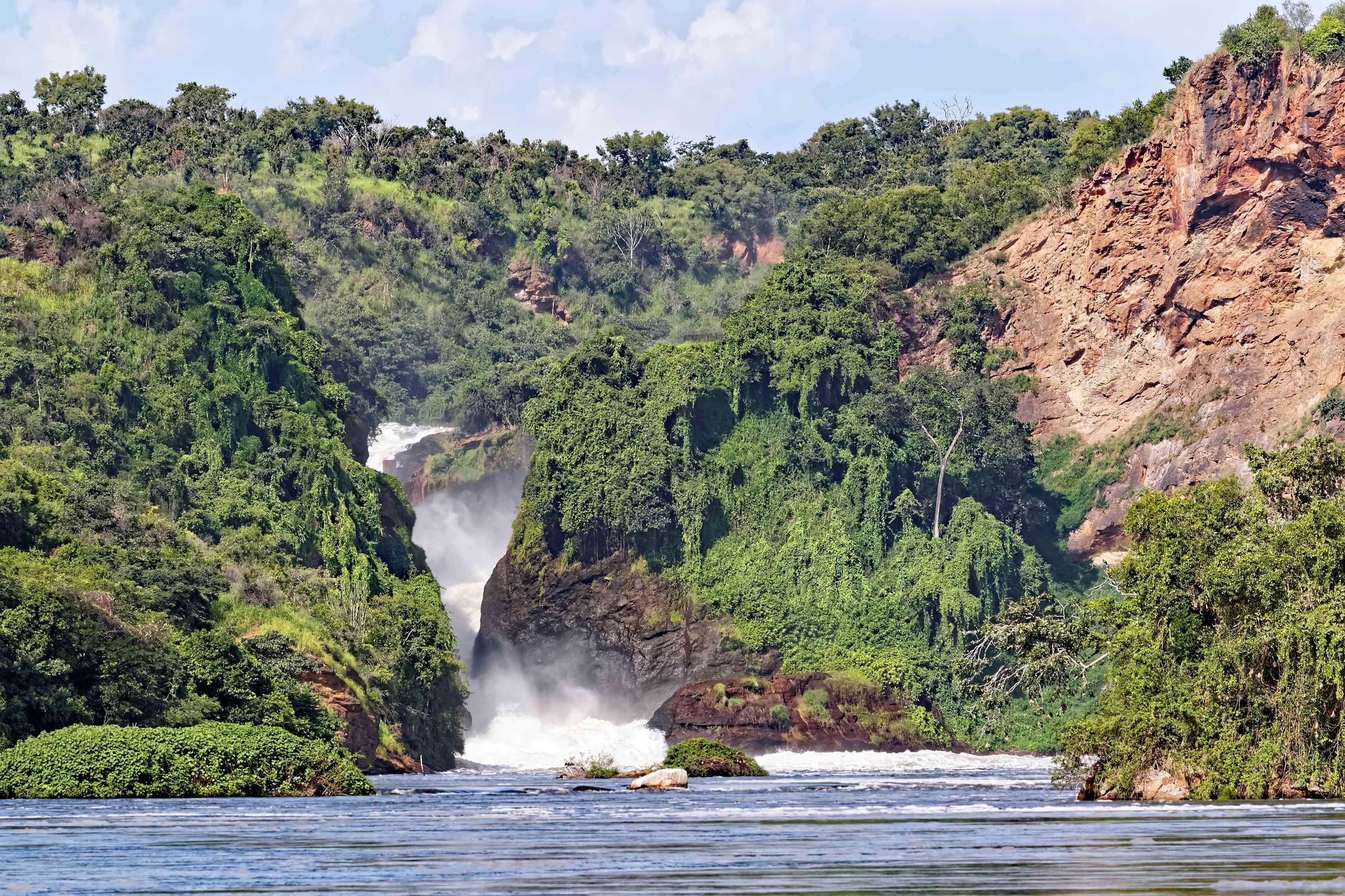 Cataratas Murchison en Uganda África