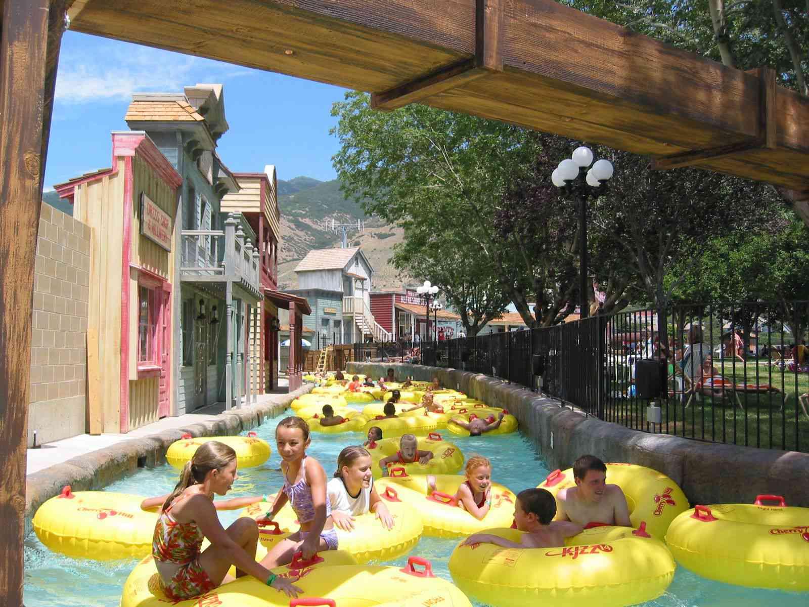 Cherry Hill water park in Utah