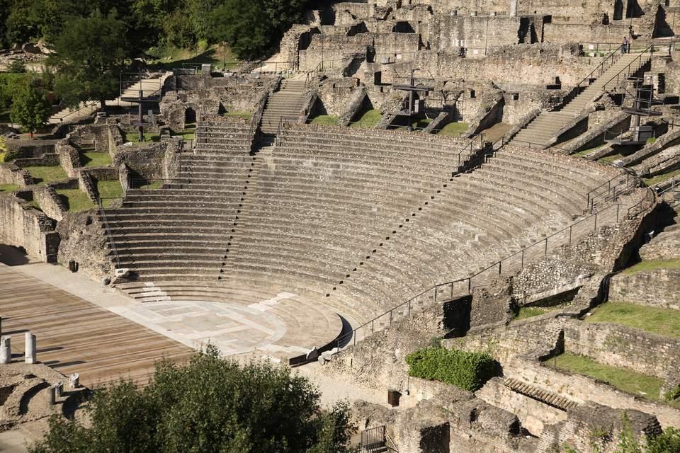 Roman Theatre in Lyon