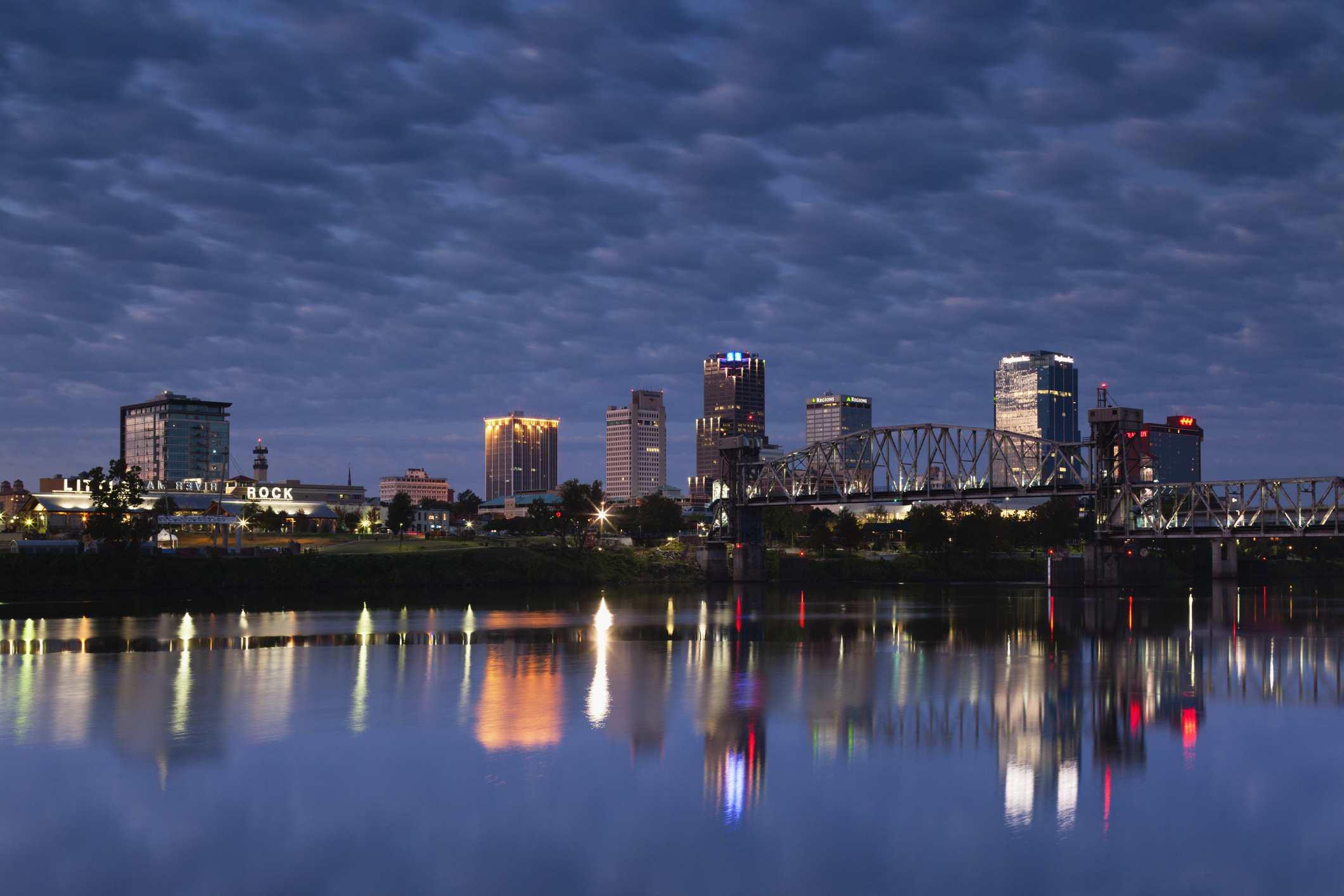 Little Rock, Arkansas, horizonte.