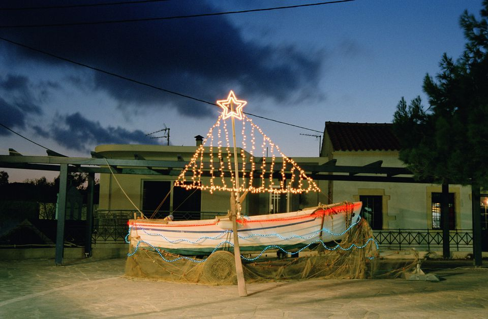 greek orthodox christmas tree decorating boat - Merry Christmas In Greek Language