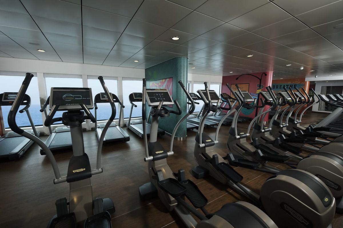 Norwegian Breakaway Fitness Center
