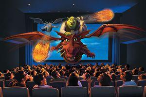 Shrek 4-D at the Universal Studios parks