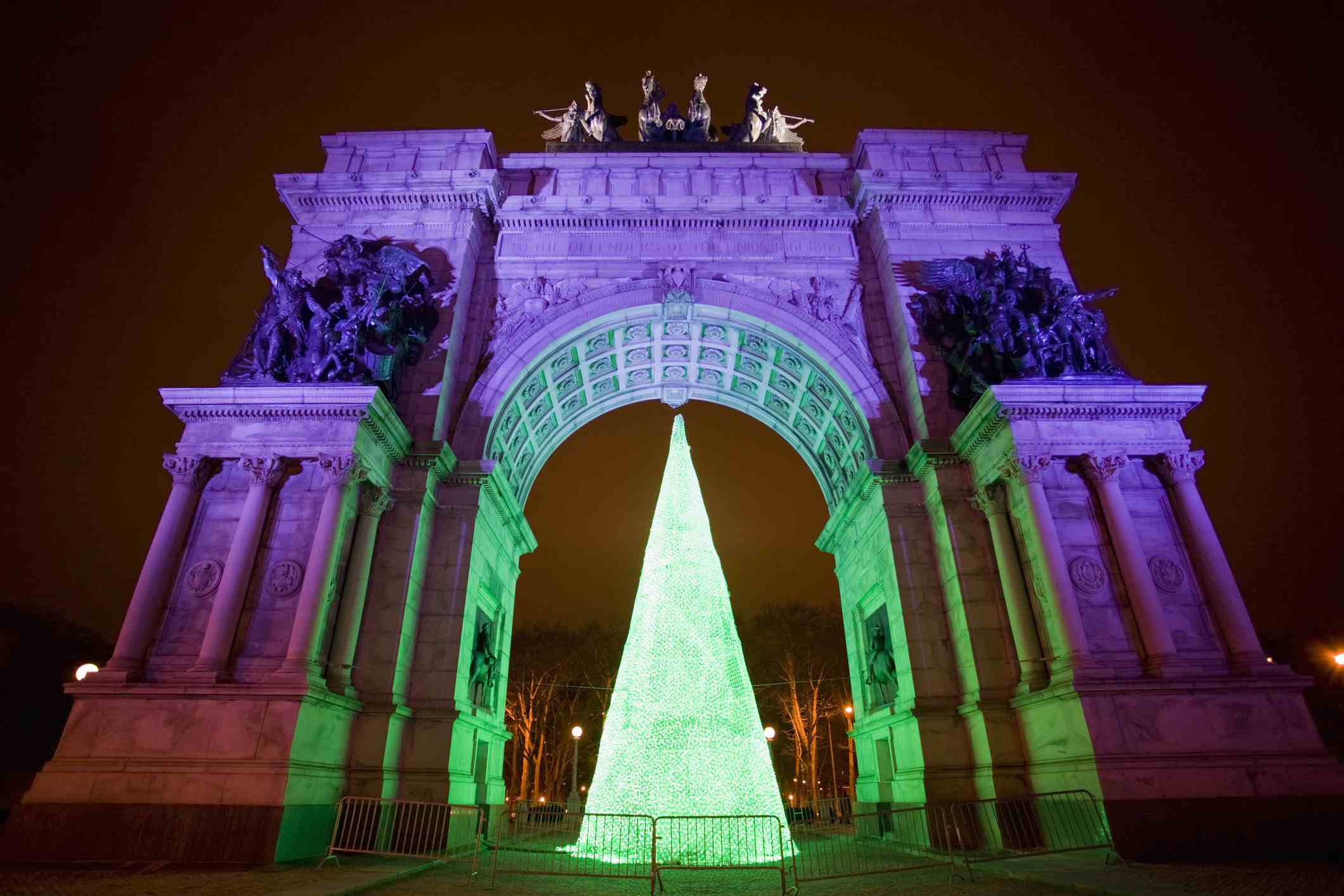 Memorial Arch at Grand Army Plaza