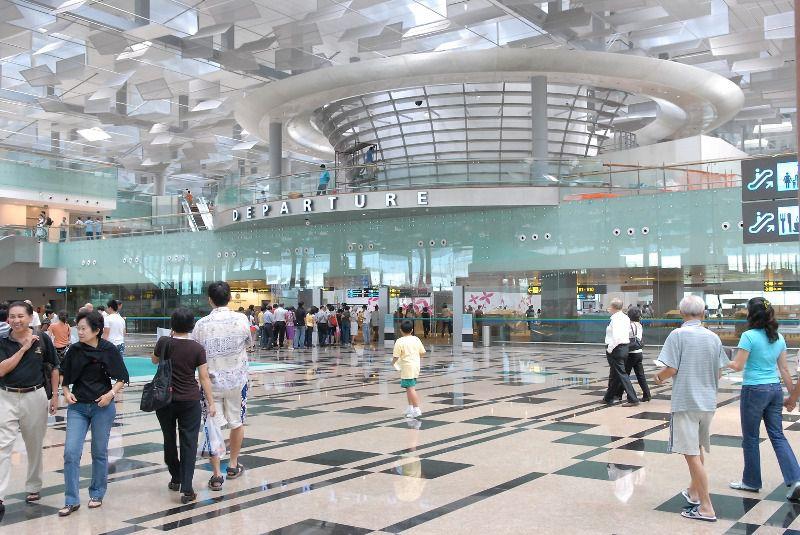 Departure area, Changi Airport, Singapore