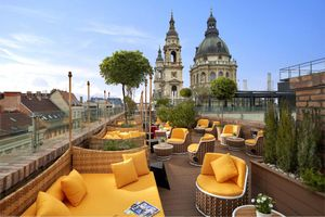 High Note Skybar at the Aria Hotel in Budapest