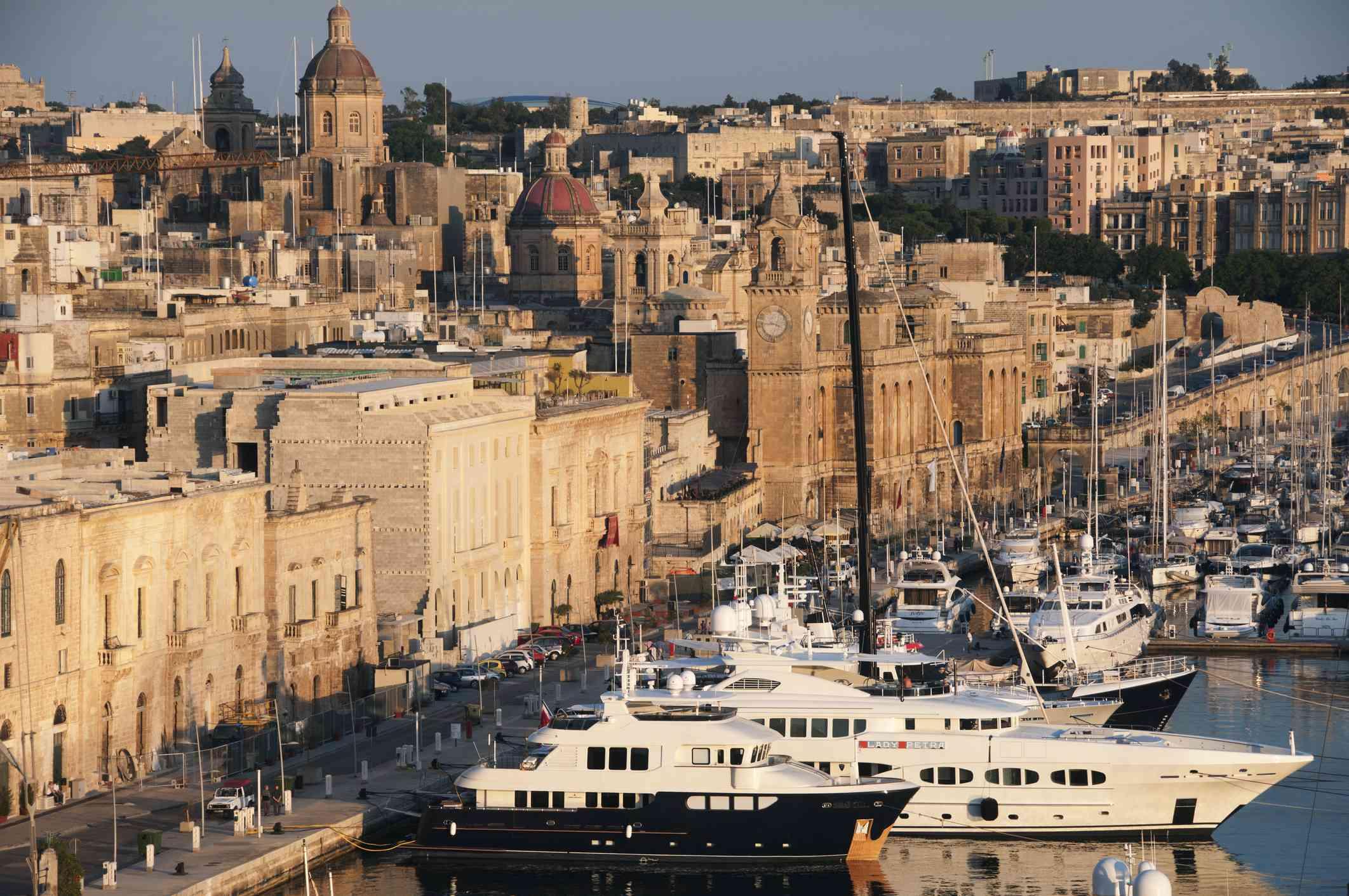 Vittoriosa Harbour, Malta