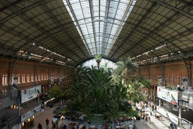 Spain train station
