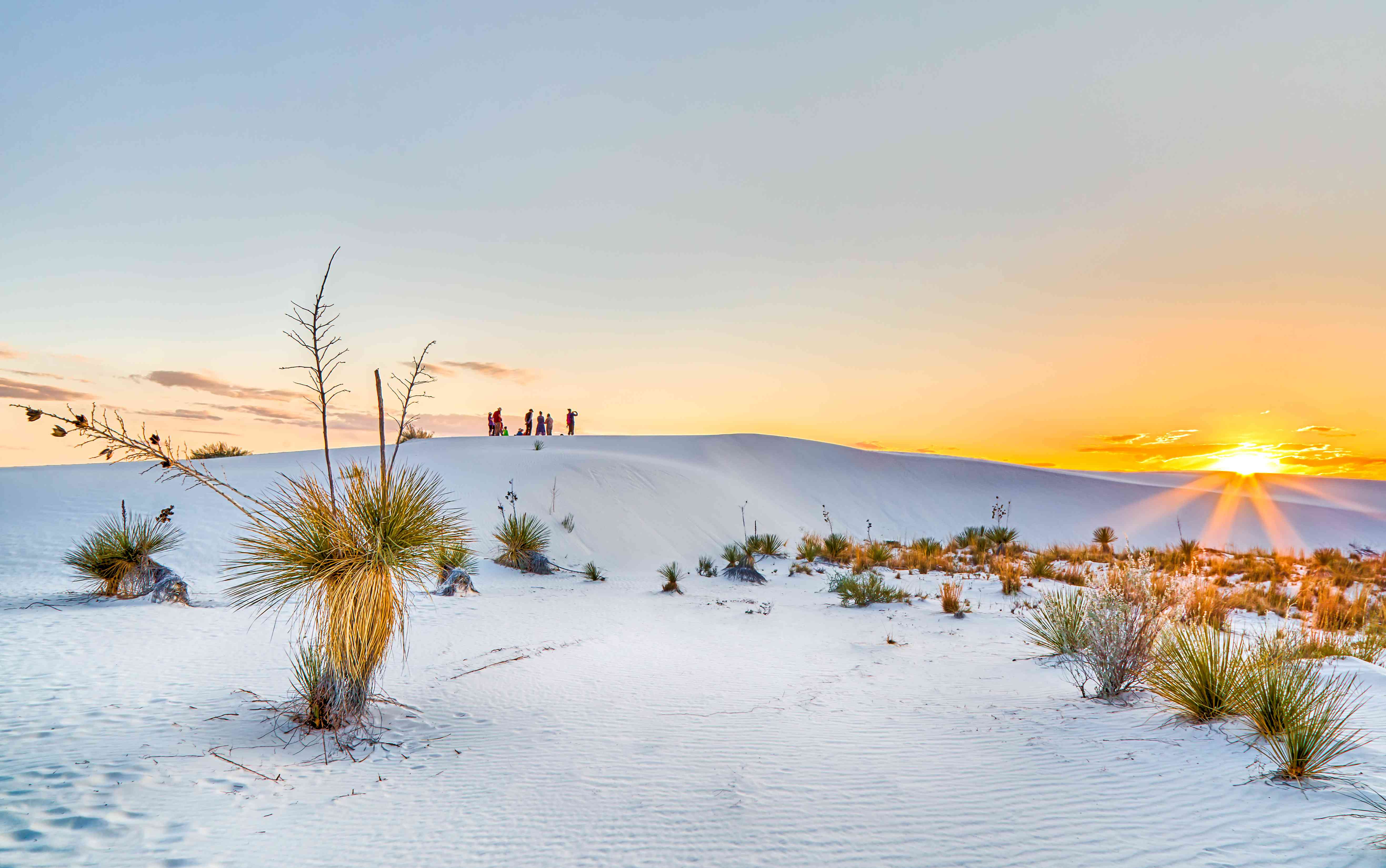 White Sands National Monument,New mexico,USA