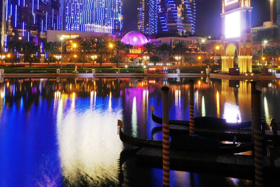 Cotai Strip by night