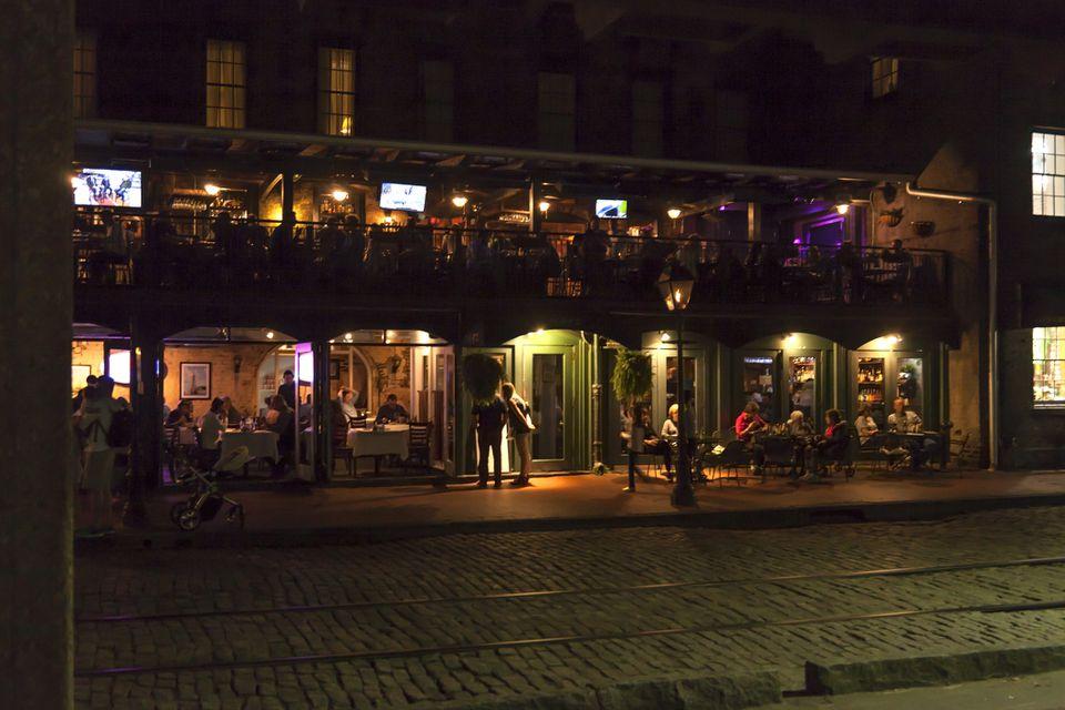Histórico River Street en Savannah, GA