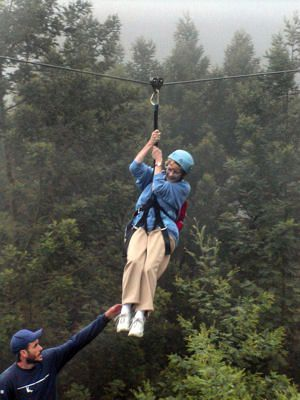 Eileen Fischer on Skyline Eco-Adventures' Haleakala Skyline Tour