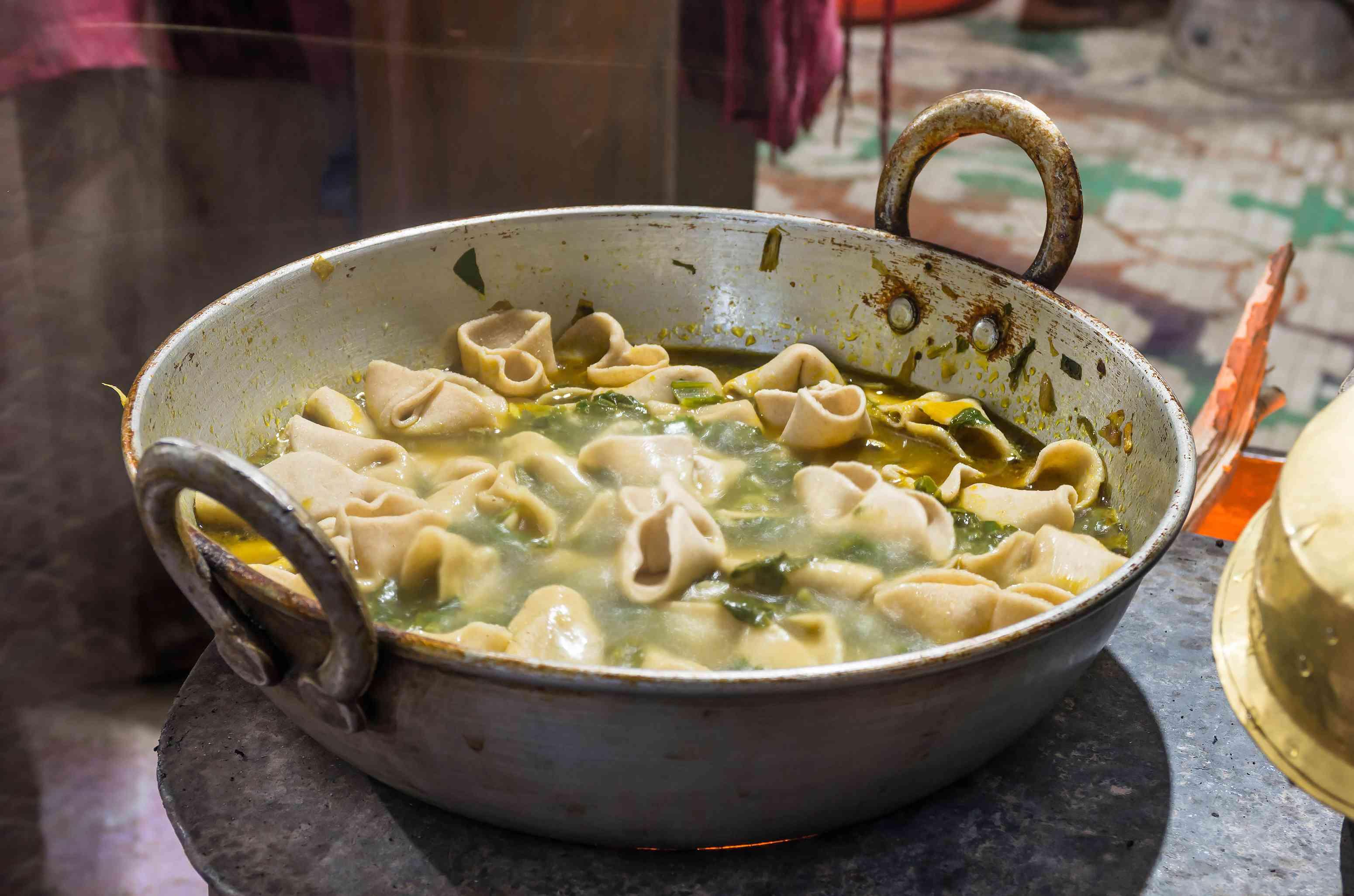 skiu - a traditional ladakhi dish