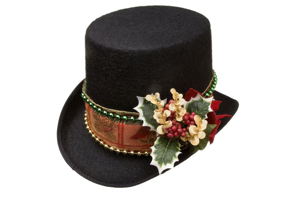 photo of christmas top hat - Christmas Top Hat
