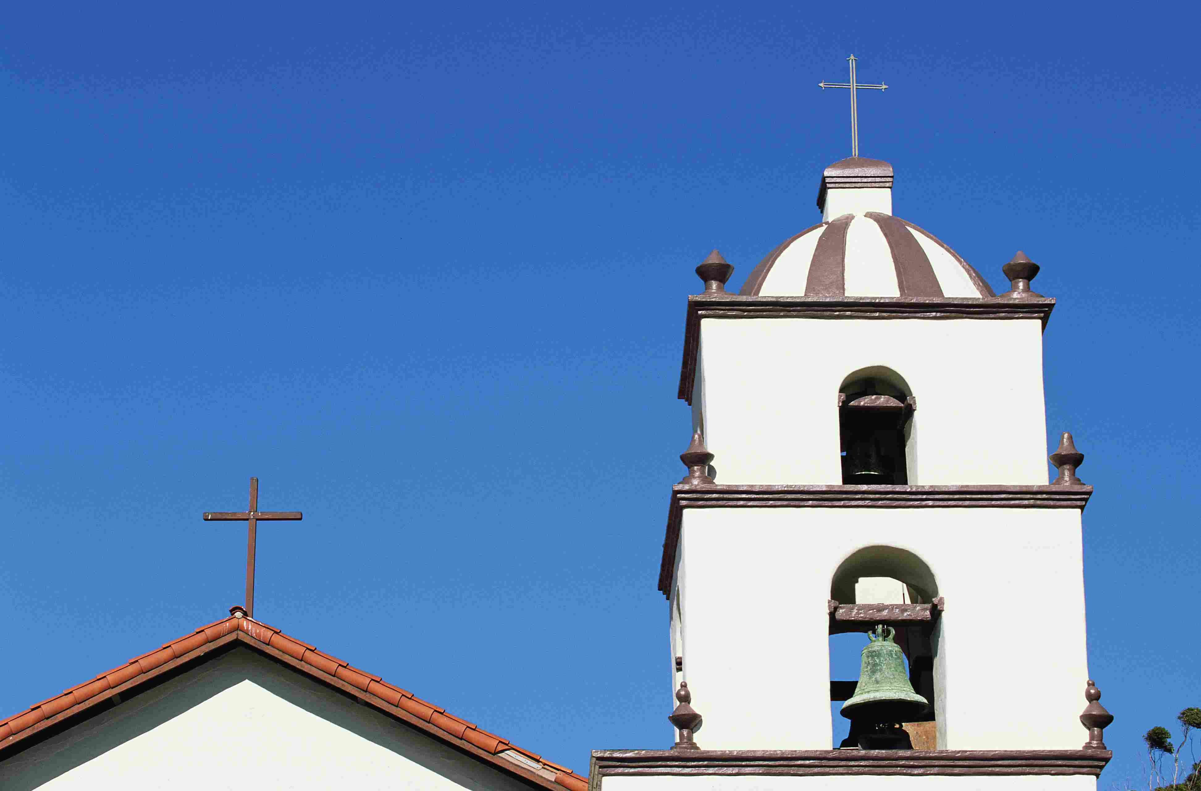 Bell Tower at Mission San Buenaventura