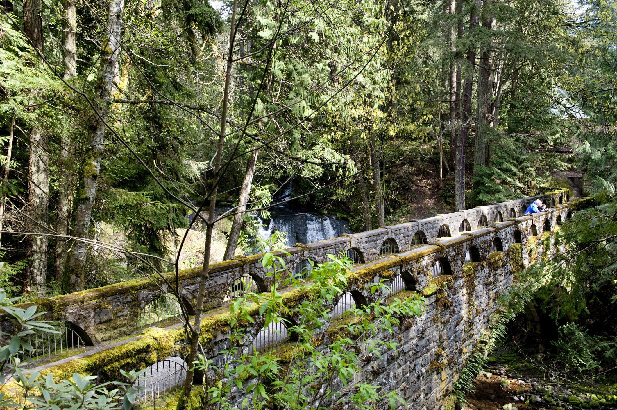 Bridge at Whatcom Falls, Bellingham