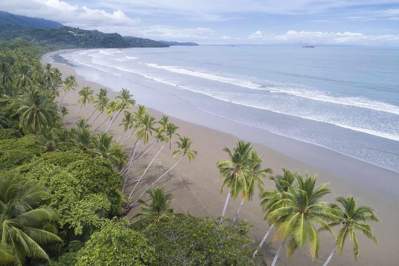 Overlooking Uvita Beach in Costa Rica