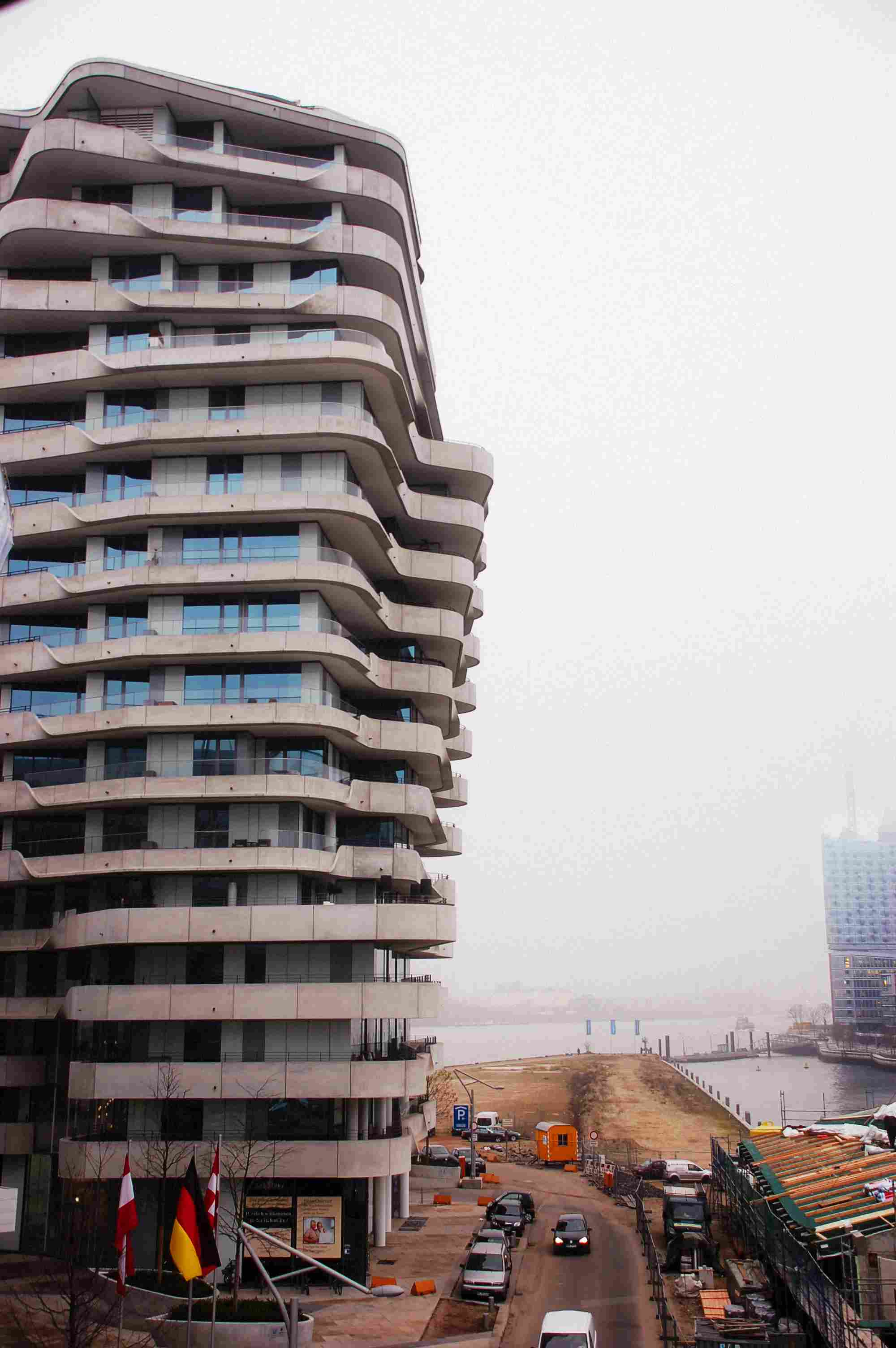 Hamburg's Hafencity building