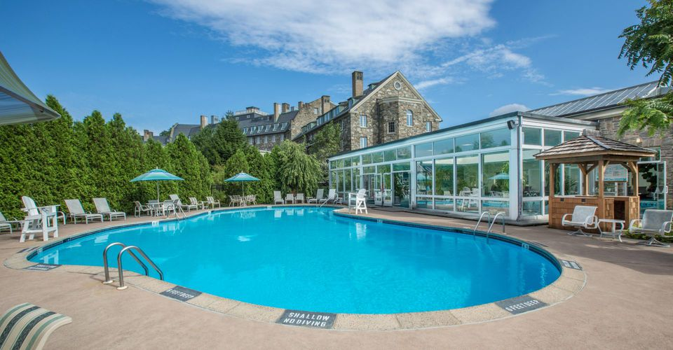 Skytop Lodge Outdoor Pool