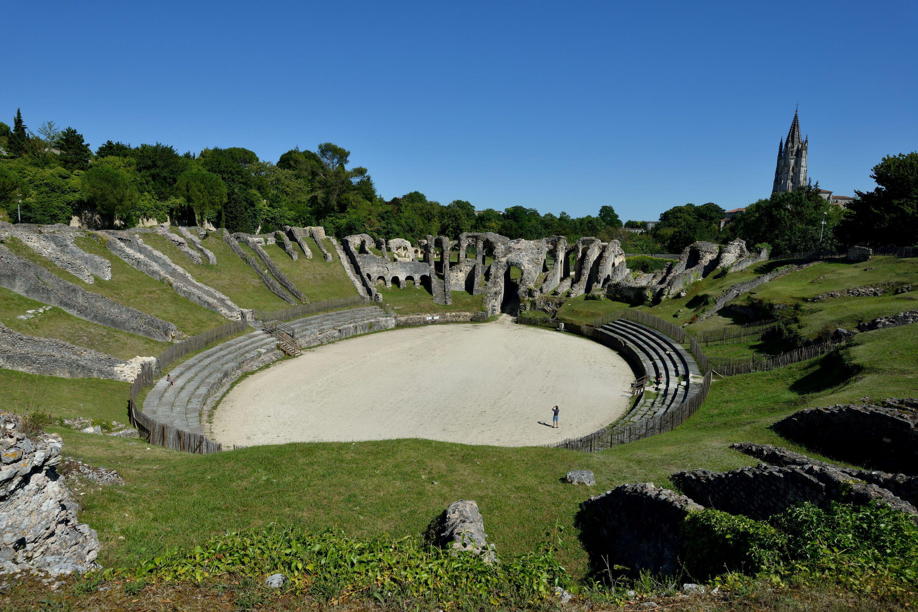 Roman Amphitheater in Saintes