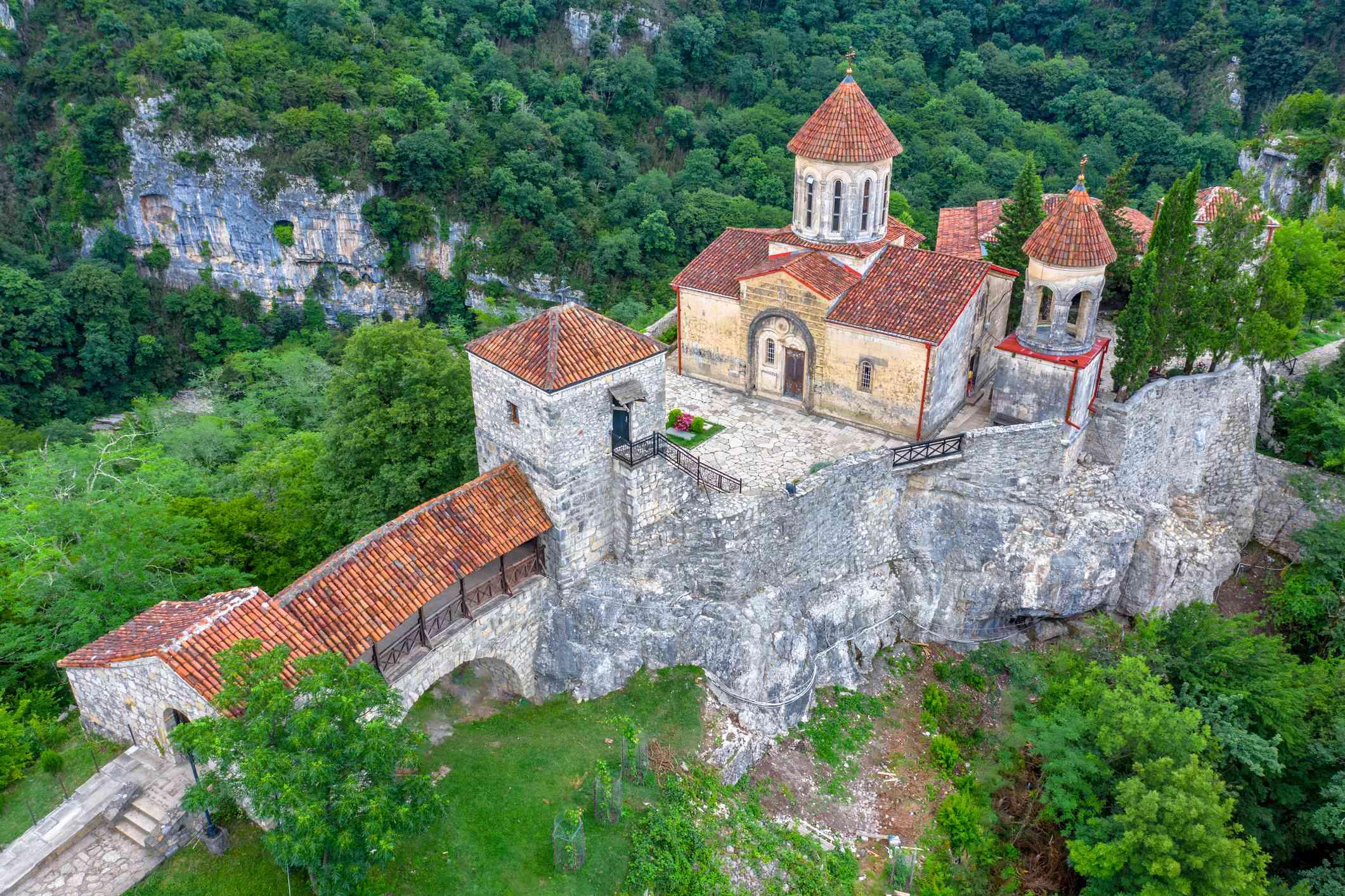 Motsameta Monastery, Kutaisi, Imereti Region, Georgia