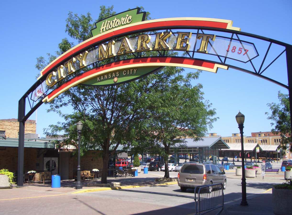 Kansas City City Market in River Market District