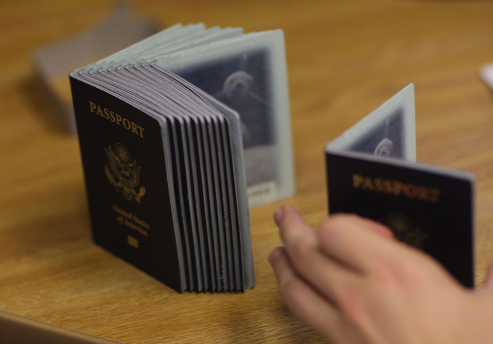 Stack of US Passports