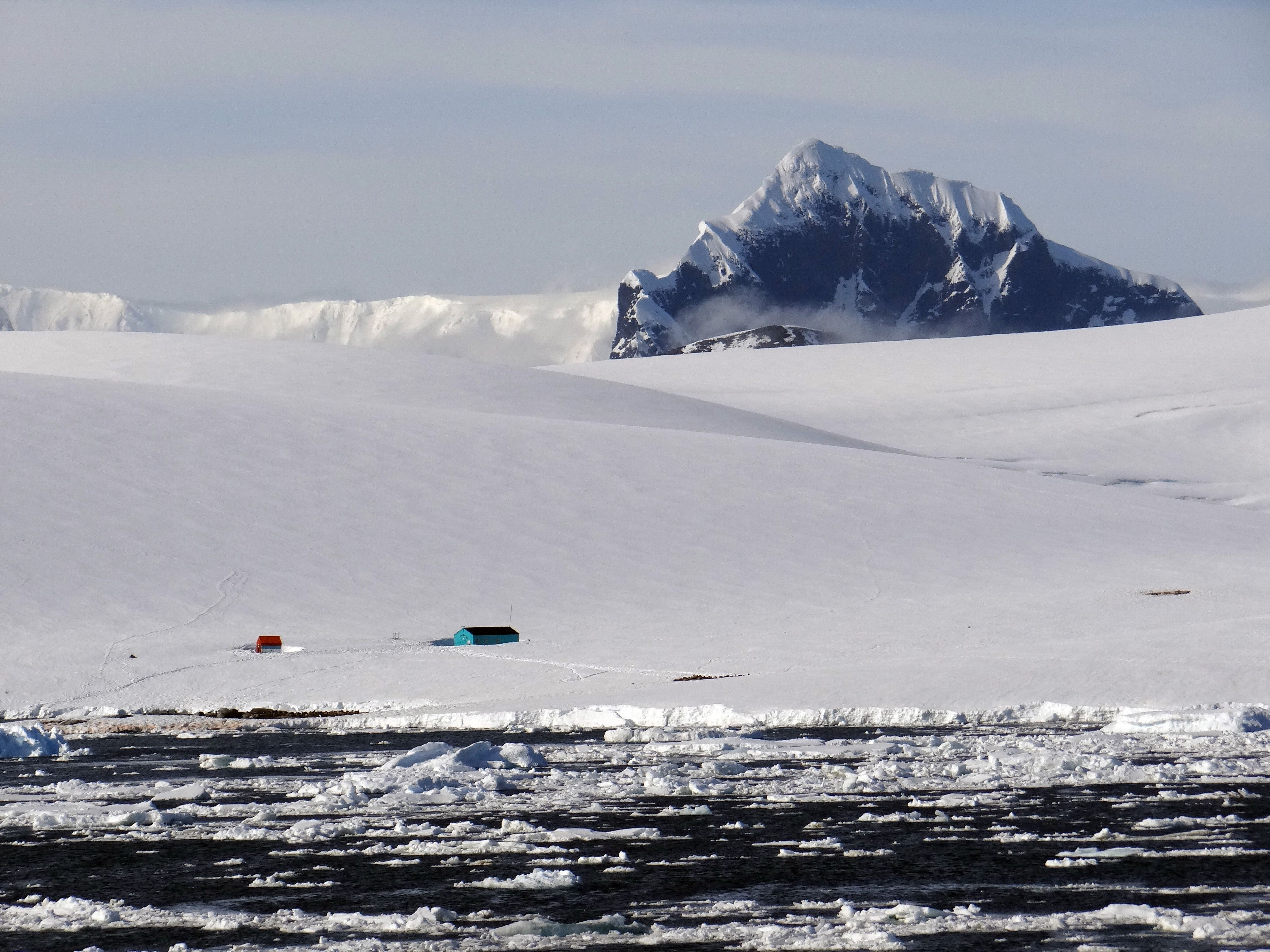 Damoy Hut on Damoy Point, a UK Antarctic Heritage Trust Site