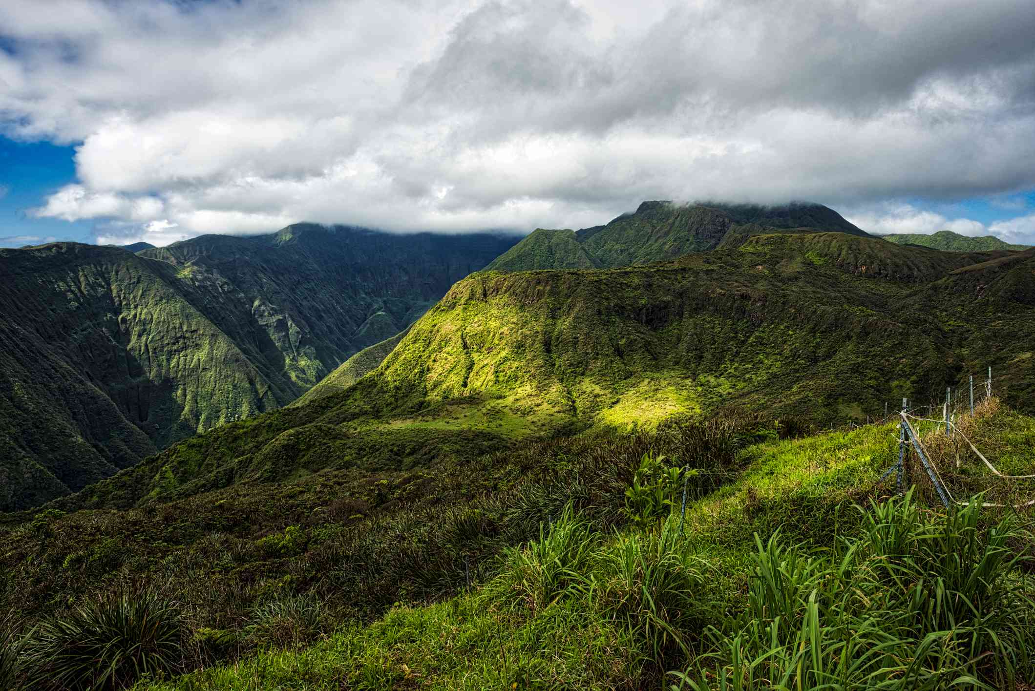 Waihee ridge trail in Wailuku, Maui
