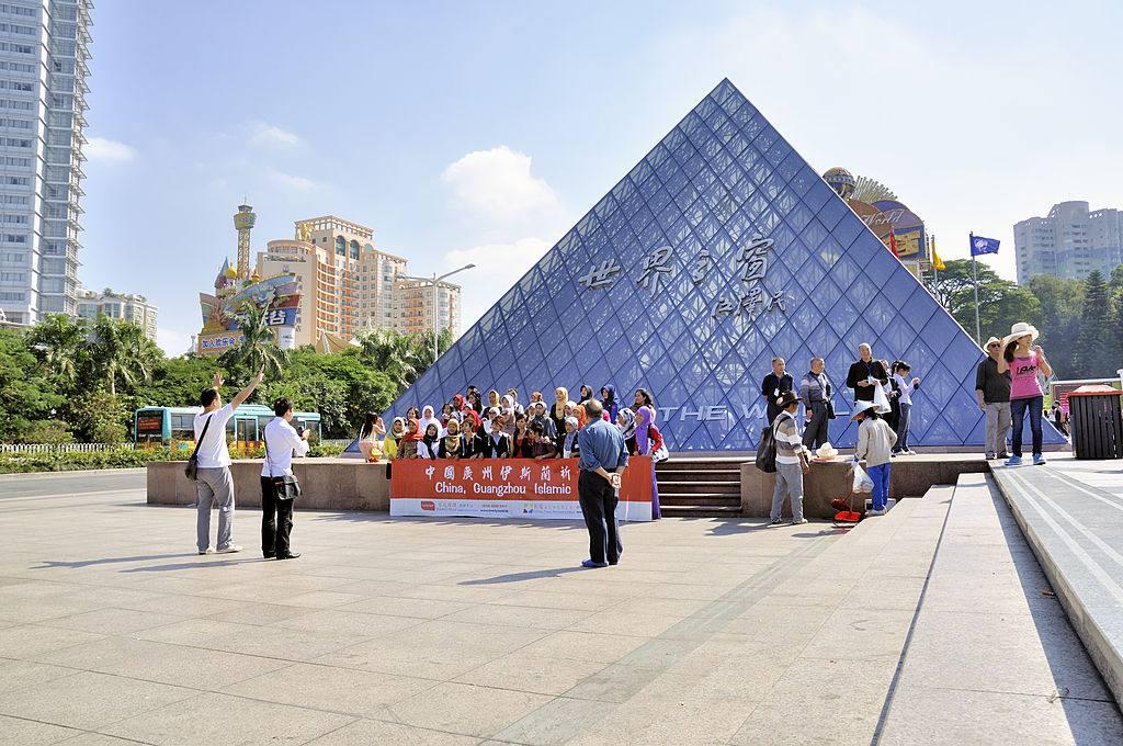 Shenzhen window of the world in miniature landscape attraction.