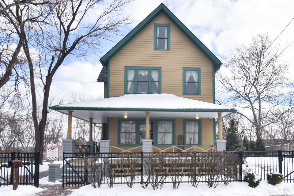 Christmas Story House in Cleveland, Ohio