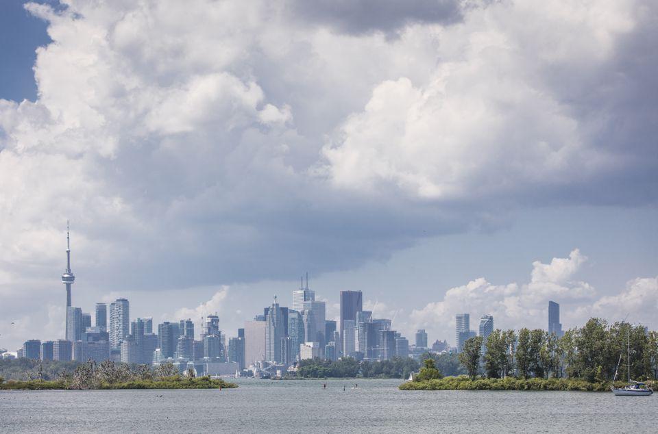 Leslie St Spit in Toronto